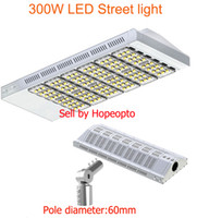 Wholesale 300W LED Street Light street road path walkway lamp tunnel flood light matched pole adapter years warranty