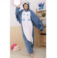animal owl onesie - New Winter Flannel Adult Onesie Cartoon Owl Pajamas Unisex Pyjamas Sleepsuit Cosplay Costumes