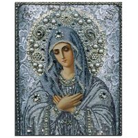 paintings mary - diy d religious paintings Mary decorating decoration Handmade gift Diamond mosaic embroidery diamond embroidery stitch pattern