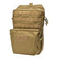 bear bladder - Military Tactical Molle Hydration Bladder Carrier Pack Load Bearing Backpack Airsoft Paintball Hunting Camping Hiking D Bag