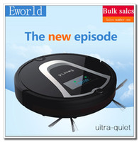 automatic floor cleaners - Eworld M884 New Automatic Vacuum Robot Floor Cleaner for Hardwood Flooring Mini Automatic Robot Vacuum Black