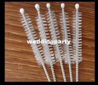 Wholesale Stainless Steel Straw Brush Bottle Cleaning Brushes Size mm x10mm