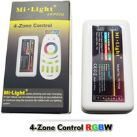 Wholesale DC12V DC24V Way Channels Ghz Wireless Mi Light Led RGBW Controller Zones A Max to Control RGBW Led Lighting