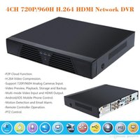 Wholesale 4CH P H Screen HDMI Network DVR Surveilance DVR Video Recorder Standalone with Remote Controller