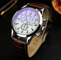 Wholesale Watches Men Luxury Brand Wrist Watch Fashion Relogio Masculino PU Leather Men High Quality Quartz Watch Relogio montre