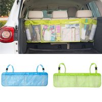 Wholesale 110cm cm Car Trunk Organizer Seat Cover Toys DVD Storage Container Bags Automobiles Auto Styling Accessories Supplies Products