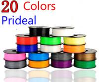 Cheap 3d filament pla filament 1.75 3mm good quality 3d printer filament 1.75mm PLA filamento impressora 3d printer extruder