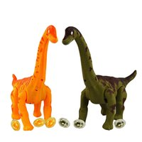 animated king - Dinosaur battery animated dinosaur toys large plastic dinosaurs for king toys Electronic toys Lay eggs dinosaur battery