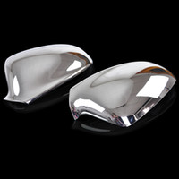 astra wing - 2011 Vauxhall Opel Astra J ABS Chrome Rear View Mirror Cover Side Door Wing Mirror Trim Cover Car Styling Accessories set