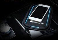benz car mats - Car interior accessories Non slip mat navigation pad Cell phone pad Car styling AMG logo for Mercedes Benz GLK GLA CLA C class