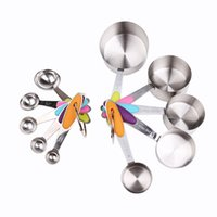 Wholesale Environmental Protection And Durability Of Various Types Of Stainless Steel Sets Of Measuring Cup And Spoon