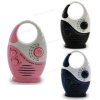 Wholesale Portable Mini Colors AM FM Hanging Shower Listen Bath Bathroom Waterproof Home Speaker Music Radio Gift
