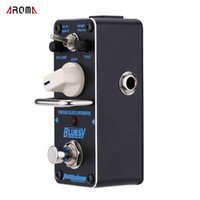 aby guitar pedal - AROMA ABY Bluesy Vintage Blues Overdrive Mini Single Electric Guitar Effect Pedal with True Bypass
