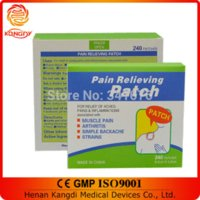 Wholesale Best Sale Chinese Pain Patch for Relief Pain cm Relief muscle pain mild pain killer patch