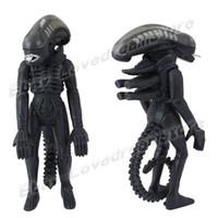 alien helmet - Animation Cartoon Alien vs Predator Alien Warrior cm quot PVC Action Figure Removed Helmet New