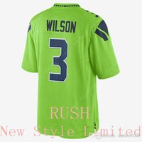 authentic russell wilson jersey - Best qulity Cheap Newest Limited Rush Seahawks Russell Wilson Stitched Embroidery Logos Authentic Football Jerseys Sweatshirts
