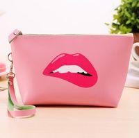 Wholesale Fashion Cute Makeup Bag Ladies Girls travel multi functional PU Cosmetic Bags Colors DHL