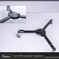 Wholesale Folding Camera Tripod Dolly Universal Slider Moving Car dolly