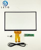 Wholesale 17 inch Projected Capacitive Multitouch Touch Screen Panel Kit with USB interface Support Win7 and Win8