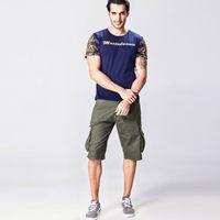 big cargo shorts - Short Men Pants Trousers Cargo Brand Jogger Casual Comfortable Men Pants for Men with Big Pocket