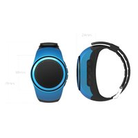 Wholesale Bluetooth Movement Music Watch Portable Mini Watch Bluetooth EDR Sport Speaker TF Card FM Audio Radio Speakers