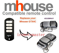 auto garage tools - Garage door transmitter for Mhouse GTX4C remote control MHZ