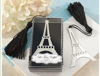 Wholesale 2016 Fashion Wedding Favors Bookmark Weddig Gifts for Guests quot La Tour Eiffel quot Hot Selling