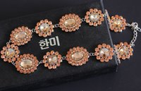Wholesale gorgeous new arrival women luxury brand designer Necklaces fashion handmade runway Jewellery gold party jewelry