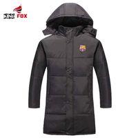 Wholesale Fall KING FOX jacket New Brand Winter Men Thickening Sport football Jacket Outdoors Waterproof Windproof Warm Coat parka plus