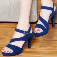 adhesive backed material - Quality Assurance New Arrival Fashion Party High Heels Elegant Women Dress Shoes Sandals Imported Material