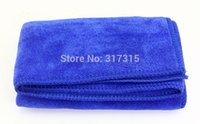 Wholesale ools Maintenance Care Sponges Cloths Brushes cmx70cm Microfiber Towel Car Cleaning Polish Cloth Car Wash Towel Water absorbent Towel