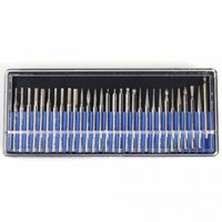 Wholesale 2016 Hot Sale New Grinding Head Drill Bits Diamond Burrs For Wood Metal Glass Jewerly Rotary Tool Drill Bit