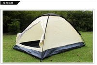 Wholesale Camping is not anti trade single or double rain tear the whole network lowest selling summer camp tent