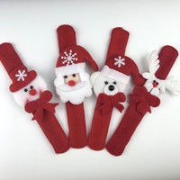 Wholesale hot selling cheap four style Christmas Ornament pat circle hand ring Christmas Toys Children s Gifts Christmas gift toy Free