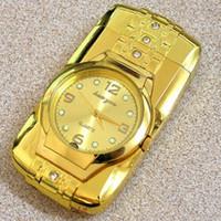 best butane cigar lighter - New Military Gold Color Lighter Watch Novelty Man Quartz Wristwatch Refillable Butane Gas Cigarette Cigar custom made best price