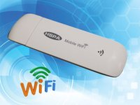 Wholesale Portabl Mobile Hotspot G WiFi Modem Wireless Mini USB WiFi Router with SIM Card