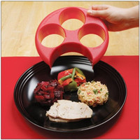 Wholesale High Quality Meal Measure Portion Control Cooking Tools Lose Weight Tool Kitchen Food Plate H210730