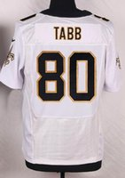 Wholesale new season New Player TABB White Elite Football Jerseys with the th anniversary Patch Football Wear Shirts top Cheap Football Jerseys