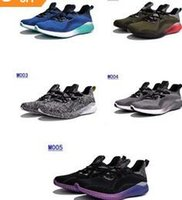 Wholesale Sale Kanye West Alphabounce Running Shoes Sneakers Bounce Black White Sports Shoes Outlet Store