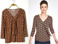 Wholesale Slim Comfortable Lady Tops with Spandex Autumn T Shirts