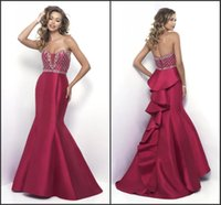 beautiful modest prom dresses - Mermaid Dress Cheap Price Beautiful Good Sell Sweetheart Neck Zipper Back Fashion Modest Vintage Prom Dress Long Red Evening Dress
