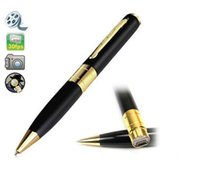 audio video pen - HD Spy Pen Camera DVR Audio Video Recorder Camcorder Mini DV Pinhole Surveillance Gift