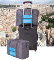 Wholesale TRAVEl Luggage Organizers Laundry Bag Travel Lightweight Duffel Gym Bag Men Women Portable Storage Luggage Bag
