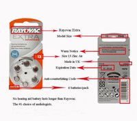 advanced ear care - Batteries Button Cell Batteries for Rayovac Size A DS A312 P312 PR41 Advanced Hearing Aid Batteries for CIC Ears Care Button