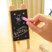 Wholesale Mini rabbit black board Small blackboard Wooden chalkboard pizarra tiza quadro negro Zakka office material school supplies