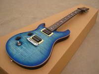 Wholesale A New Brand Electric RPS Guitar see thru blue left hand