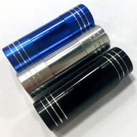 Wholesale Pollen Press grinder High Grade Metal Assorted Colors Aluminum Mini Press