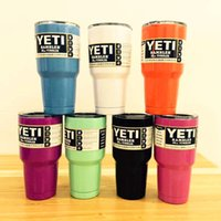 Wholesale Yeti oz oz Cups Cooler YETI Rambler Tumbler Travel Vehicle Beer Mug Double Wall Bilayer Vacuum Insulated Insulation Cup