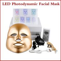 ac instruments - Korean LED Photodynamic Facial Mask Home Use Beauty Instrument Anti acne LED Skin Rejuvenation Whitening Facial Machine