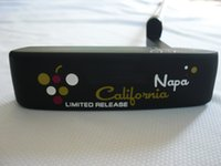 Wholesale OEM factory original grade golf clubBLACK california putter freeshipping